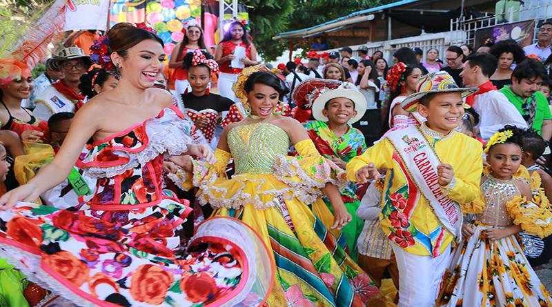 Alegría, creatividad y tradición en izada de bandera del Carnaval de los Niños 2019