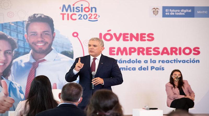 Misión TIC es la estrategia de formación de talento humano más importante de Colombia para la cuarta revolución industrial: Duque