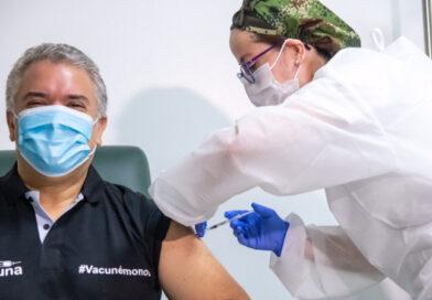 Presidente Iván Duque recibió Vacuna contra el Covid 19