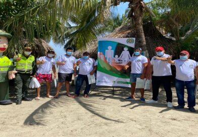 En Juan De Acosta desde hoy se redoblan esfuerzos para garantizar el cumplimiento de las medidas en las playas