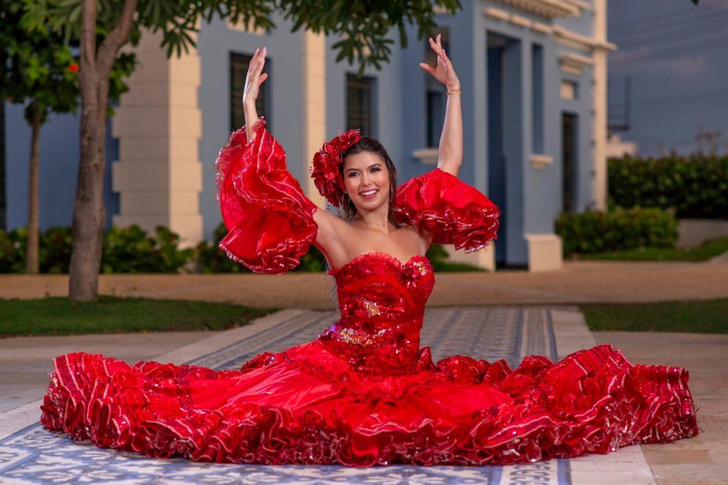 Valeria Charris Salcedo, Reina del Carnaval de Barranquilla 2022