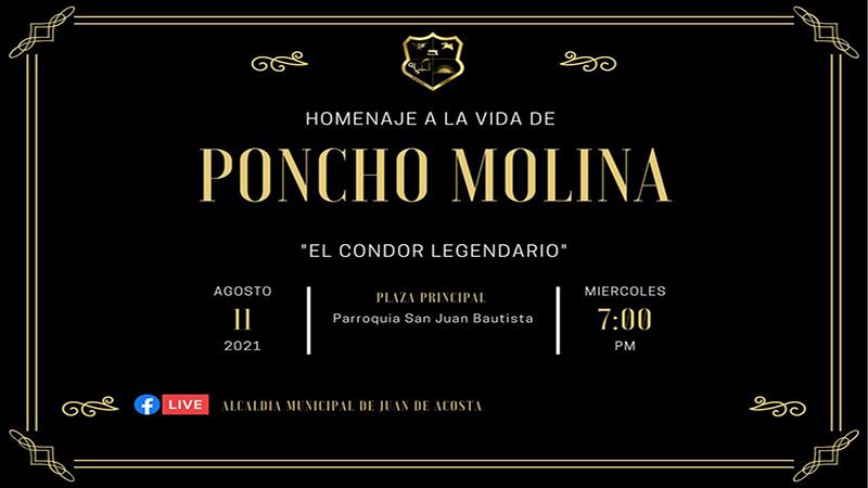 Homenaje al Compositor Vallenato Angel Alfonso Molina, El Condor Legendario