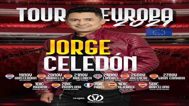 JORGE CELEDON INICIA EN NOVIEMBRE  TOUR MUSICAL POR EUROPA.