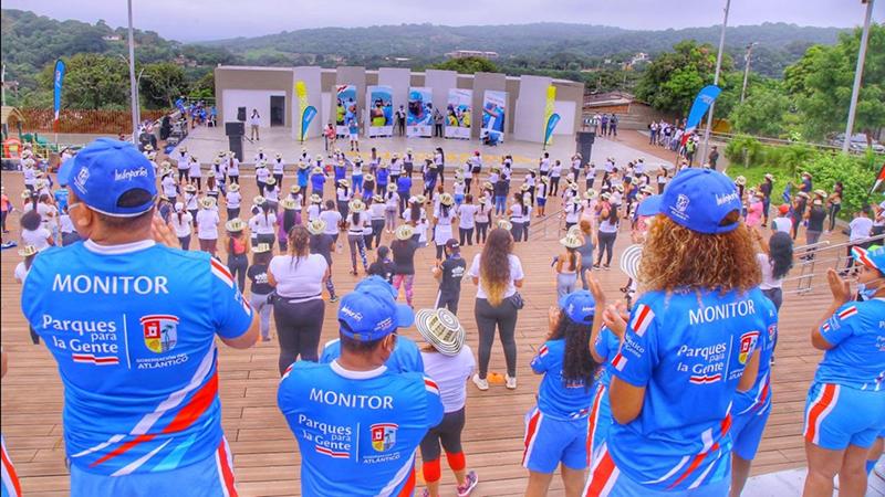Más de 500 personas celebraron el Día Mundial de la Actividad Física en Tubará